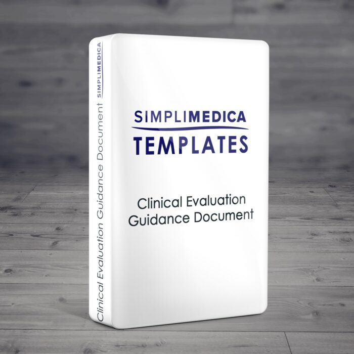 Clinical Evaluation Guidance Document