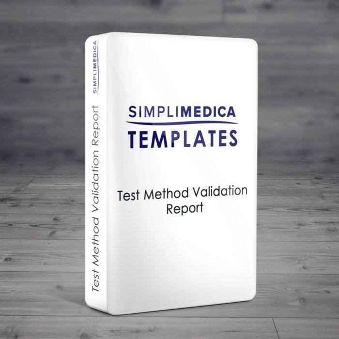 Test Method Validation Report
