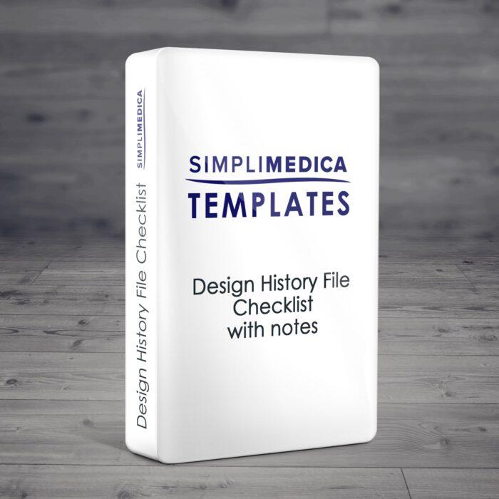 DHF Checklist
