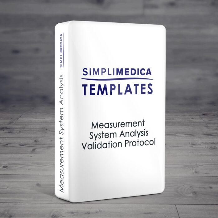 Measurement System Analysis Validation Protocol